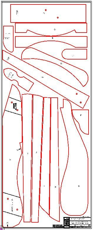 Adirondack Chair Plans DWG files for CNC by TheBarleyHarvest