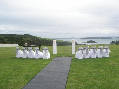 Cable Bay, Waiheke Island. A stunning setting overlooking the Hauraki Gulf with views to Auckland City http://www.venues.org.nz/vineyards-historic-unusual/vineyard-venues-and-winery-venues/cable-bay-vineyards-and-restaurant-l2583.html