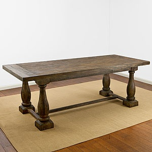 Finally found my tuscan dining room table !! It's going to look gorg with the chairs I have picked out ! :)
