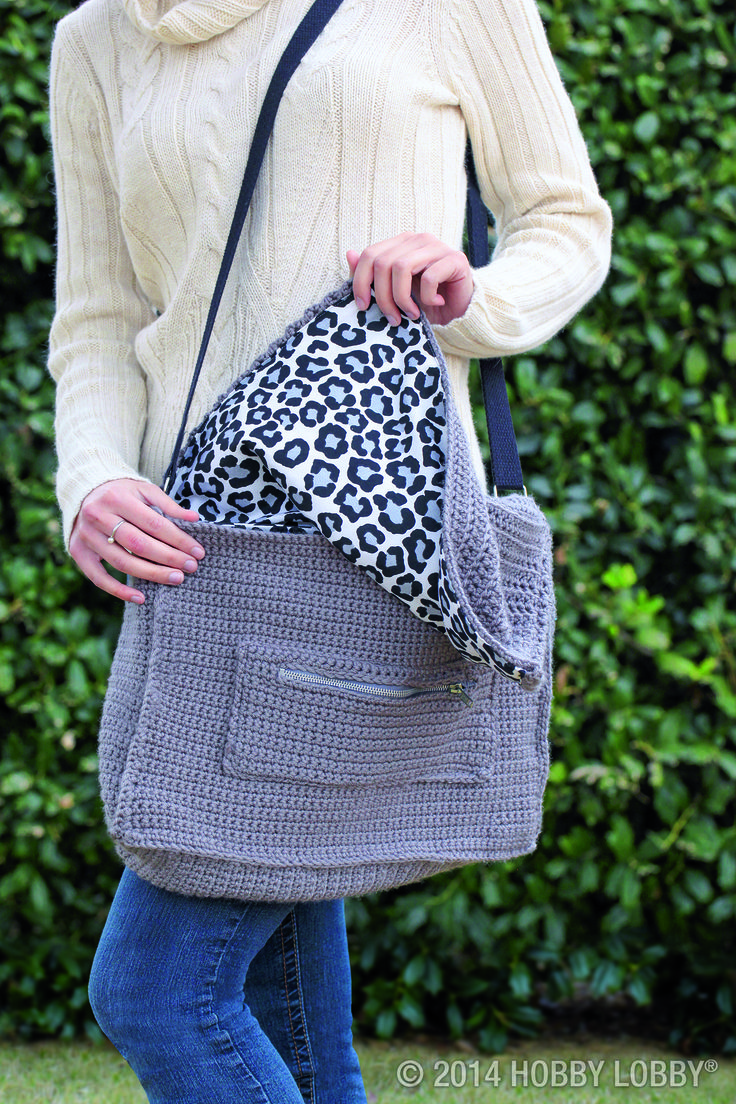 Why settle for an off-the-shelf laptop bag (Do you want that in black, black or black?) when you can tote your motherboard in a chic crocheted messenger bag? Use our free pattern to make your own!
