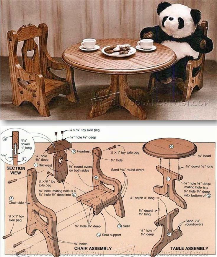 dollhouse furniture plans. dollhouse furniture plans childrenu0027s wooden toy and projects woodarchivistcom f