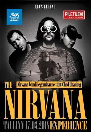 17.3. Nirvana Tribute Show - 30 vuotta Nirvanan syntymästä.  Tondiraba jäähallissa muistetaan muusikoiden voimin Nirvanaa. Illan tähtenä on yhtyeen alkuperäisjäsen Chad Channing, joka toimi bändissä rumpalina ennen Dave Grohlia. Esiintymässä ovat myös tribuuttiyhtyeet The Greatest Nirvana Tribute in the world sekä The Nirvana Experience. #eckeröline #eckeroline #tallinna