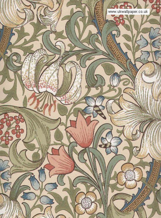 Morris & Co Wallpaper, William Morris Acorn WM7422/1,William ...
