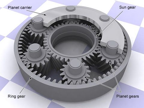 This engineering video is structured to show how epicyclic gearing (planetary gears) work. An epicyclic gear train consists of two gears mounted so that the ...