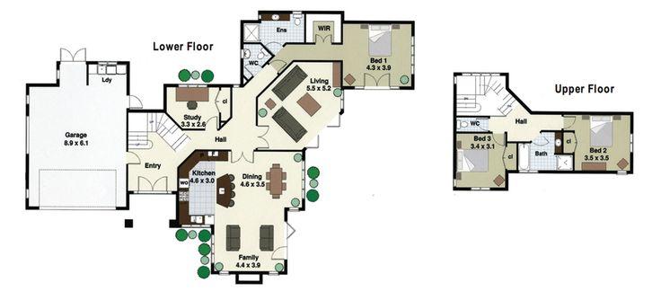 Rotoiti floor plan