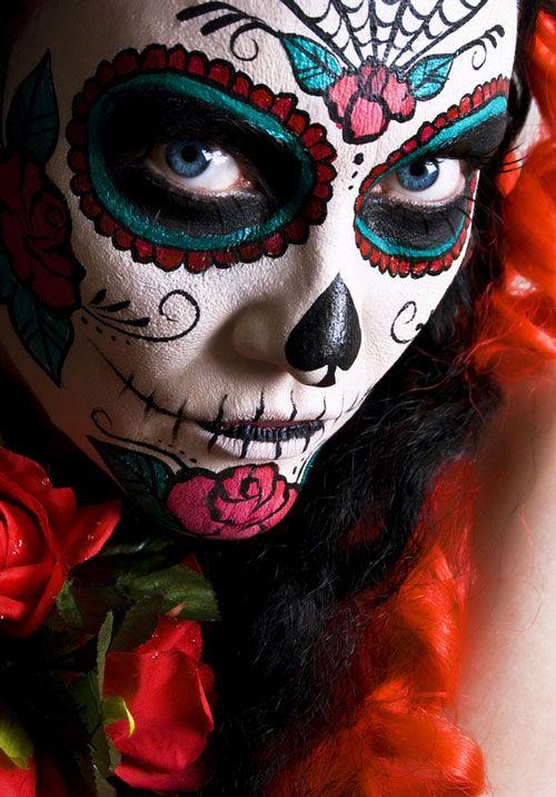 Maquillaje extremo. Feliz Halloween!