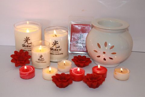 Hikari Goddess Awakening Fragrance Candle Gift Box