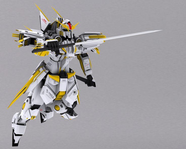 D-73ZX The Shirochi - Sword Attack