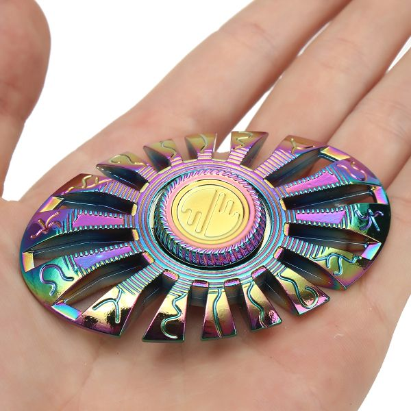 ECUBEE Copper EDC Gadget Fidget Spinner Hand Spinner Finger Focus Reduce Stress Gadget