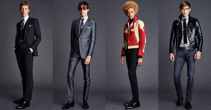 「トム フォード(TOM FORD)」はロンドンで2016年春夏メンズ・コレクションを発表した。