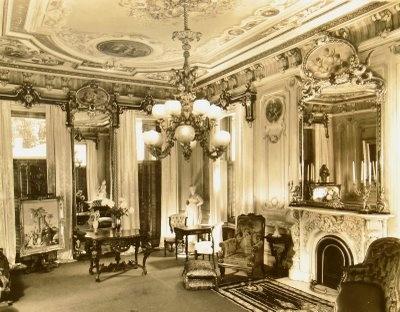 Victoria Mansion, Portland Maine An Original Photo Of The Mansion ~1861