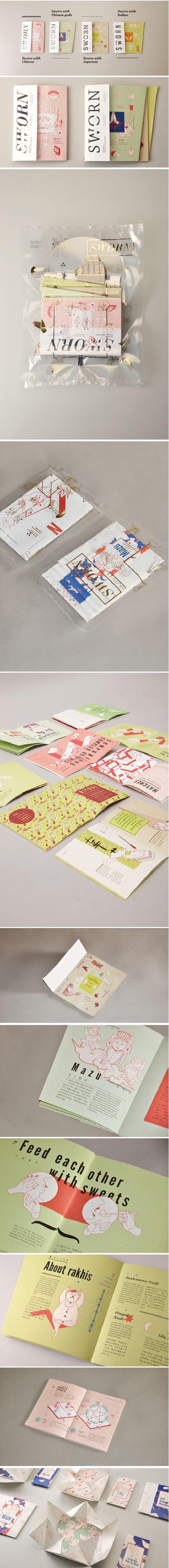 SWORN \ Editorial Design, Graphic Design, Illustration \ youwen cao \ Taipei, Taiwan:
