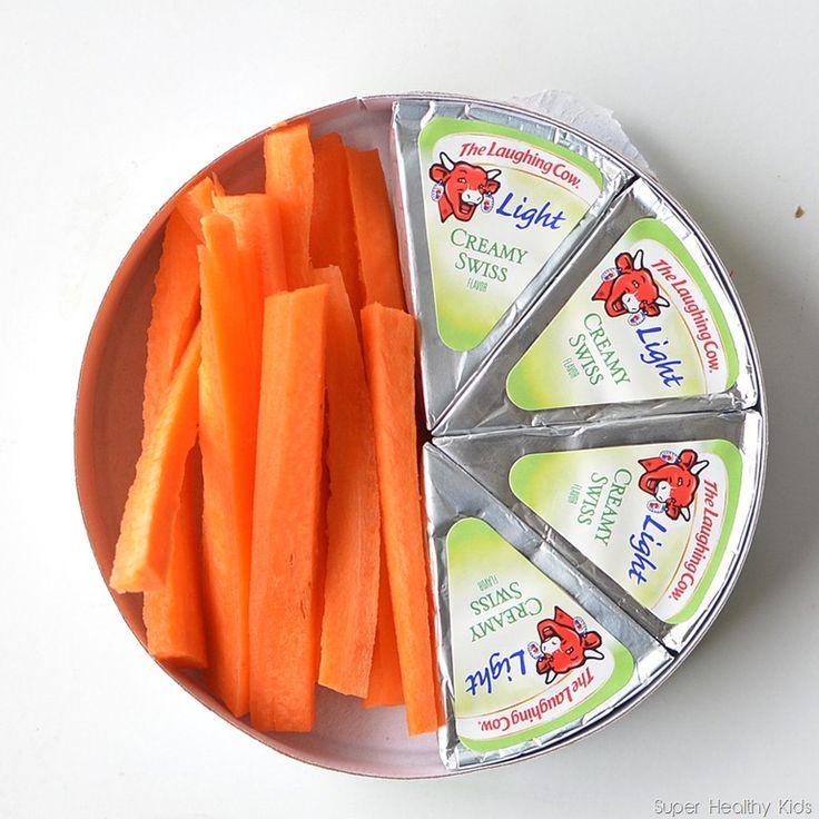 5 fast, no prep healthy snacks via super healthy kids