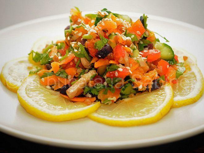 Rețetă Antreuri : Salata cu hrisca si susan de Sabina