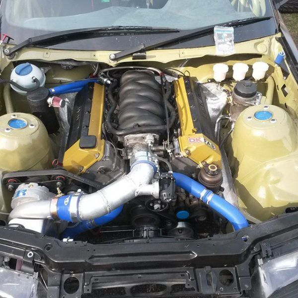 Bmw E46 With A Supercharged M62b44 V8 With Images Bmw Bmw E46