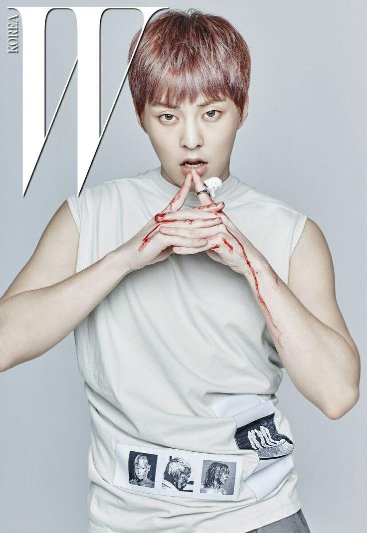 #EXO #XIUMIN @W Korea Magazine (July 2016)