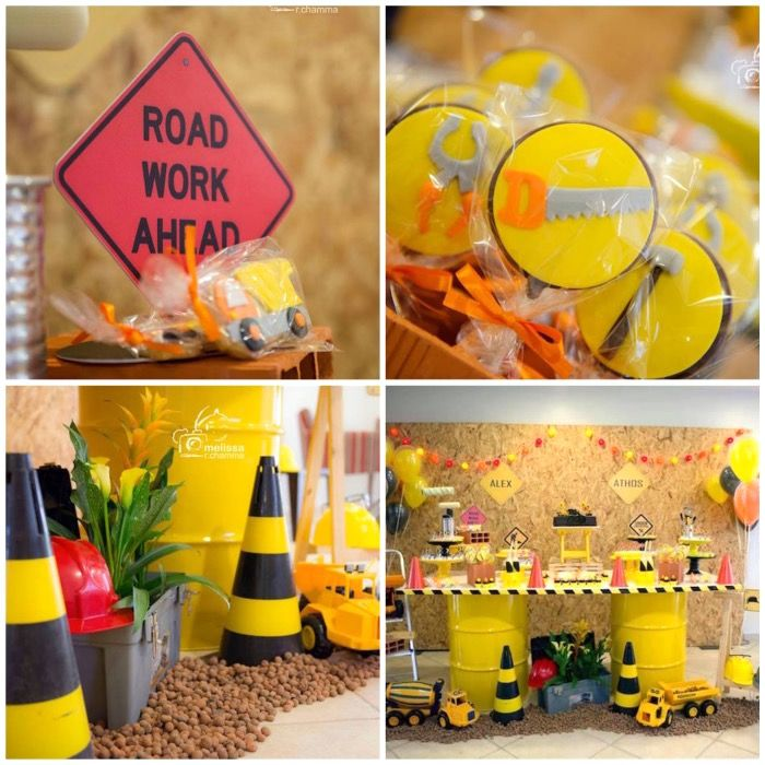 17 Best Images About Construction Party Ideas On Pinterest