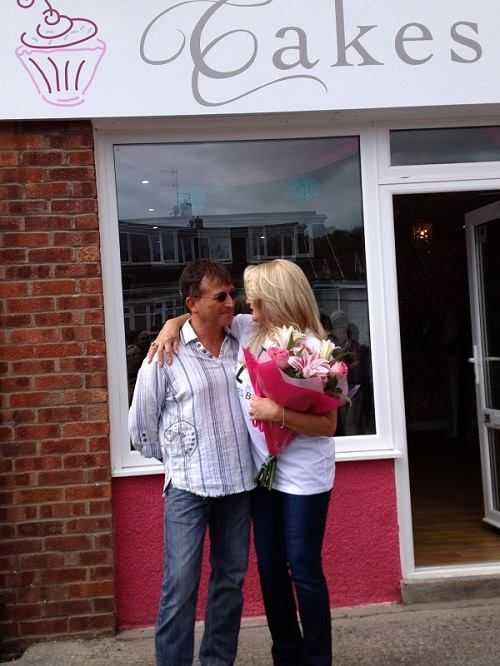 Grand Opening of Cakes By Gemma Brooks, 10/09/13 #BonnieTyler #CakesByGemma #SouthWales #PaulHopkins
