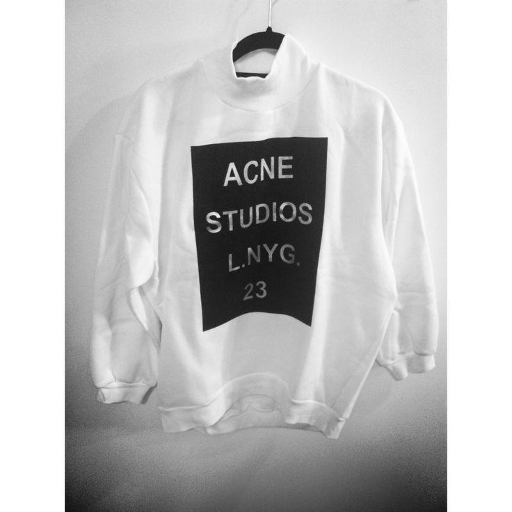 jumper// white// style //acne