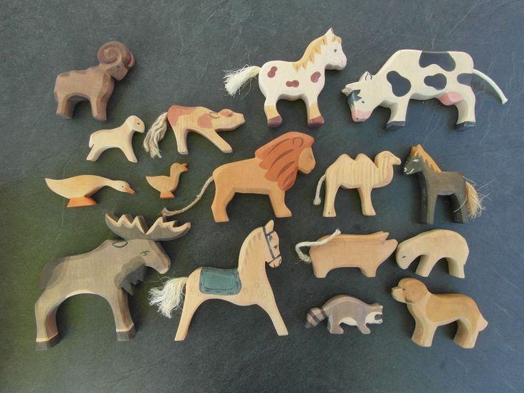13 Ostheimer Tiere + 3 Tiere Schwein Pferd Löwe Ente Elch Hund Widder und und | eBay