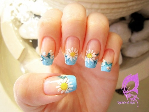 Nails Art: French Or Funky Tips Images On