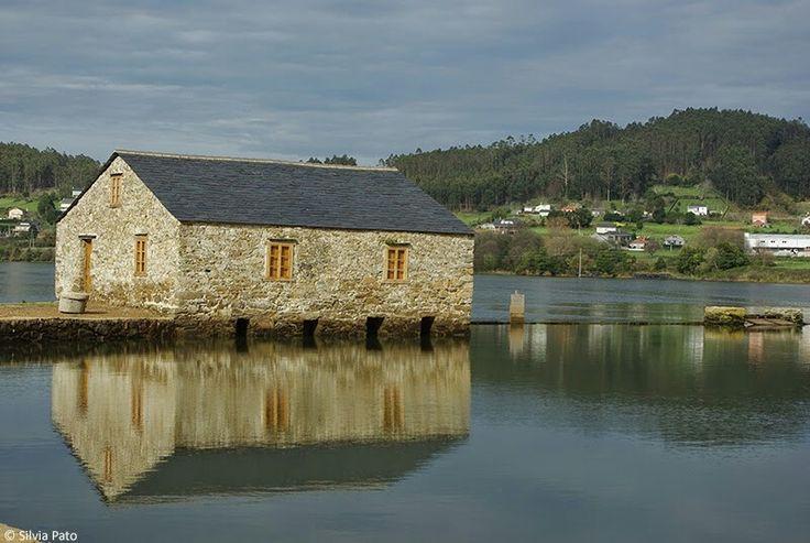 Muiño de mareas en Senra. Ortigueira. (Coruña).