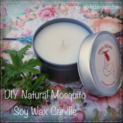 Stella Crown: DIY Natural Mosquito Soy Wax Candle #DIY   #diyproject   #diycrafts   #diyideas   #candles   #candlemaking   #paraffinfree   #ecofriendly   #soy   #soywax   #mosquitos   #mosquitorepellents   #bugoff   #bugblock   #mosquitoblock   #chemicalfree   #healthyliving   #recipeideas   #recipeshare   #stella_crown
