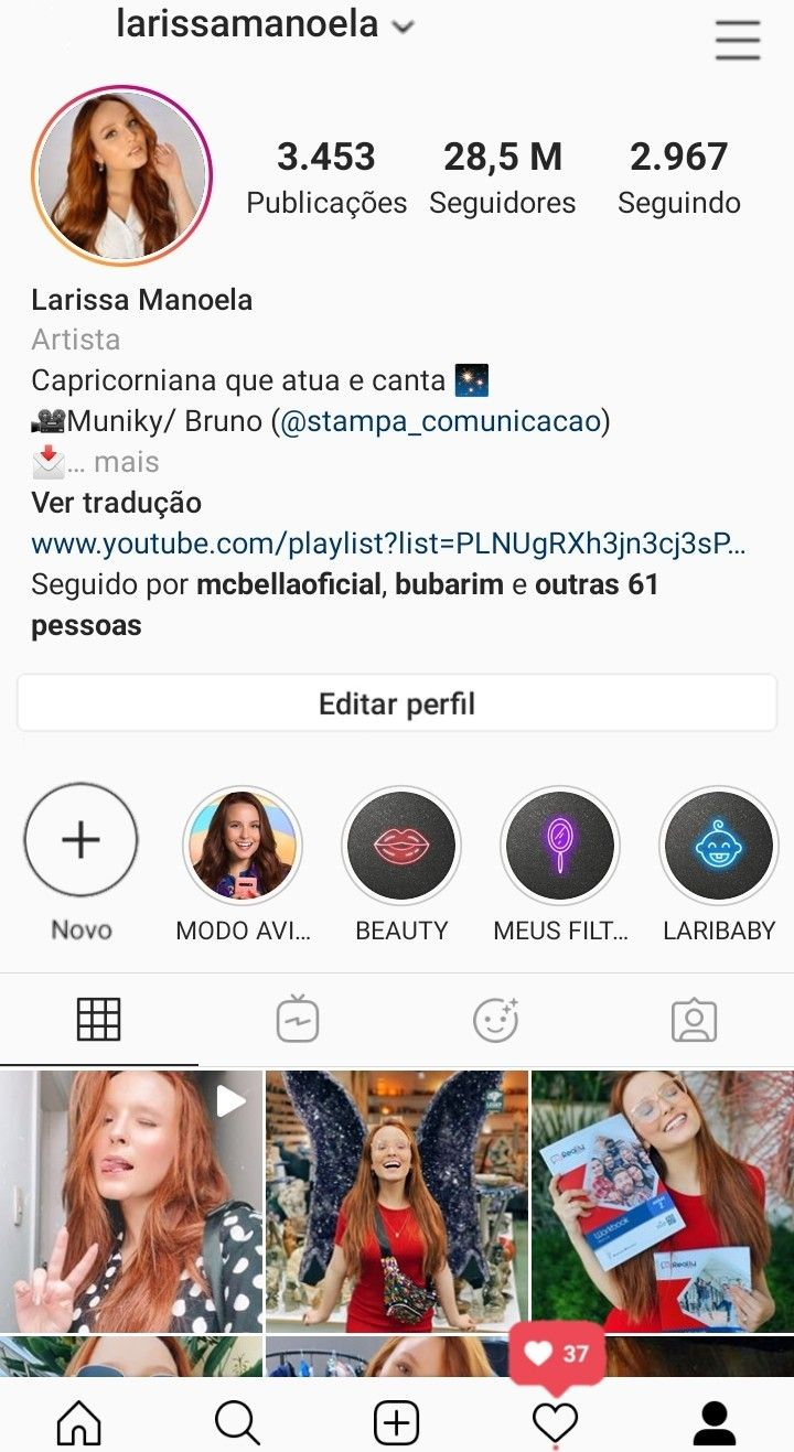 Print Do Instagram Da Larissa Manoela 2020 Em 2020 Instagram Da