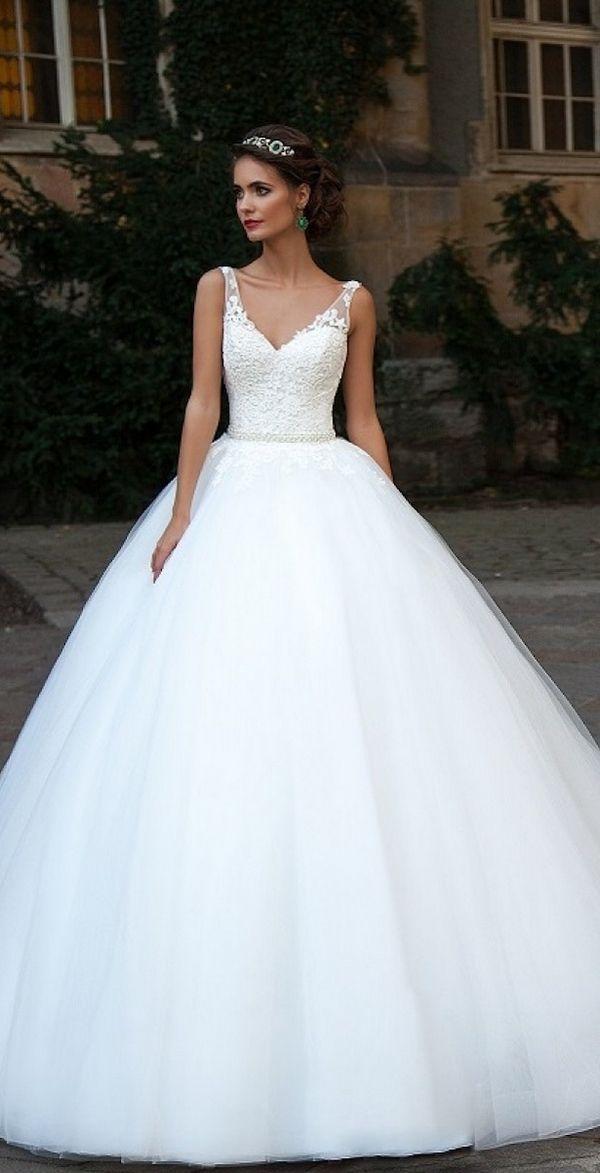 milla nova 2016 bridal wedding dresses / http://www.deerpearlflowers.com/milla-nova-wedding-dresses/10/