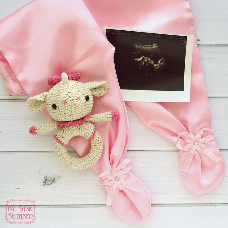 Pink Unicorn Rattle