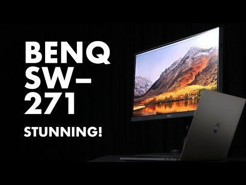 First Look Unboxing Benq Sw271 14 Bit Monitor Monitor Sales Marketing Design Tutorials