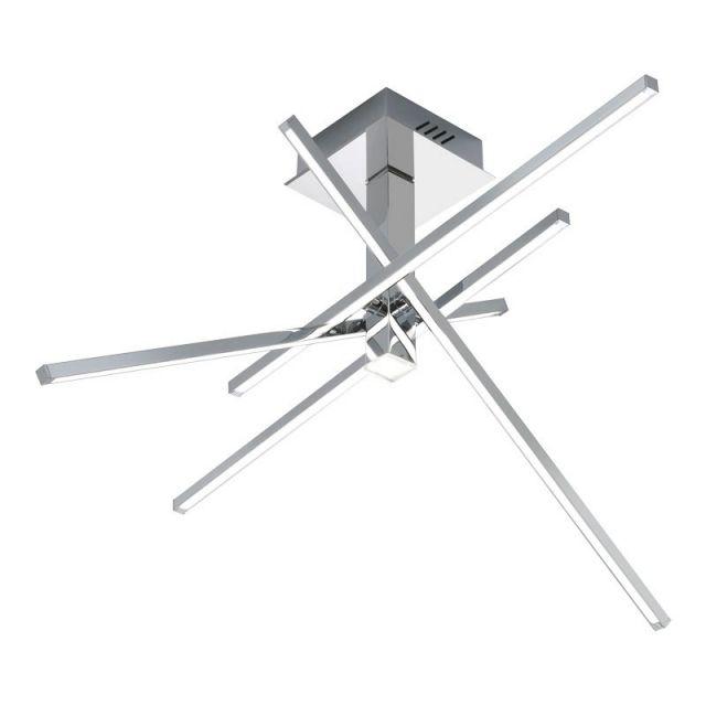 AXIAL Redo - LED lampa stropná - chróm/akryl - 710mm