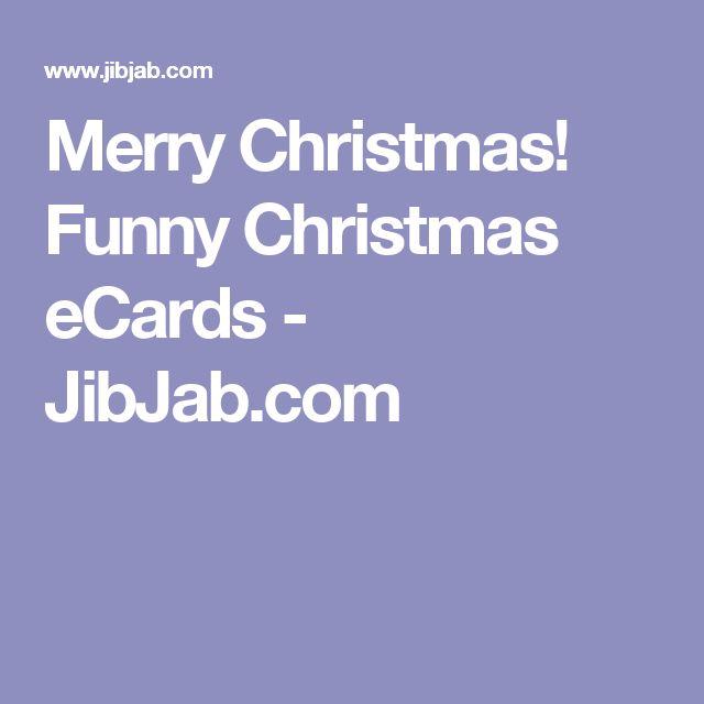 Merry Christmas! Funny Christmas eCards - JibJab.com