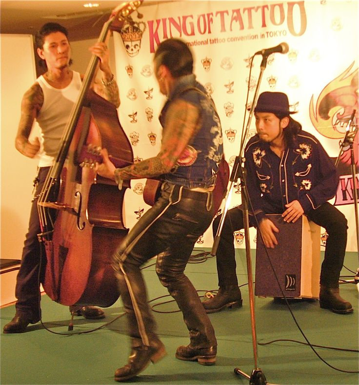 Japanese rockabilly band King of Tattoo.