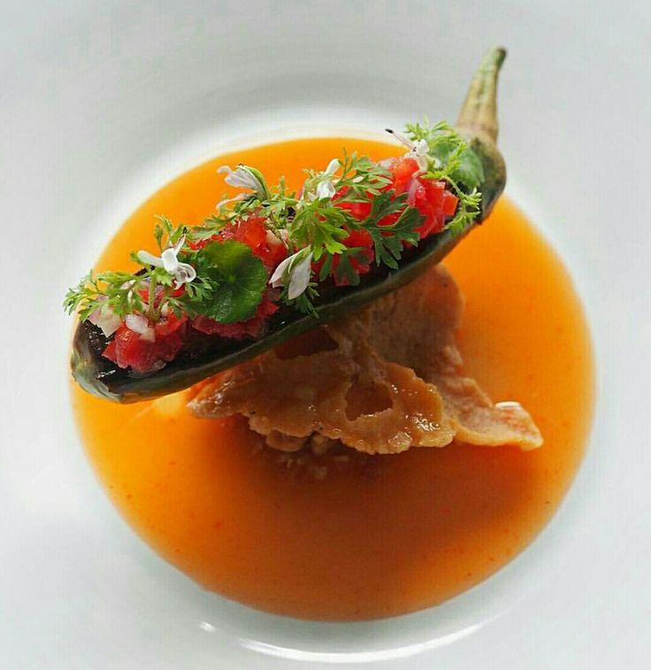 No Chef ^ _ ^ Food plating