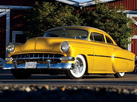 14 best customs hot rods images on pinterest cars hot rods and mike frisks 1954 chevrolet bel air common ground custom its not the fastest sciox Choice Image
