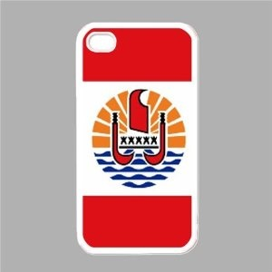 Flag of French Polynesia White iPhone 5 Case --- http://yupurl.com/xqsl4q