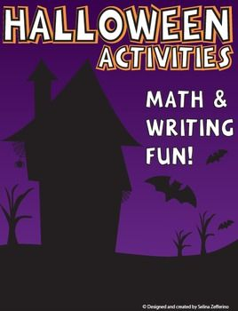 This package bundle combines learning and Halloween fun! Package Includes: Halloween Costume Creative Writing Activity, Math Sequencing, Word Search, and more! Don't forget to check out my page other great products! http://www.teacherspayteachers.com/Store/Selina-Zefferino