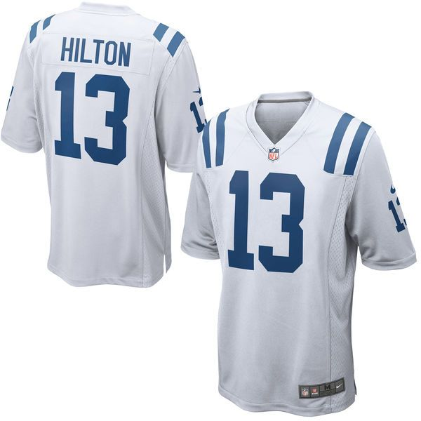 Markus Golden jersey T.Y. Hilton Indianapolis Colts Nike Game Jersey - White Chargers Junior Seau jersey Dalvin Cook jersey