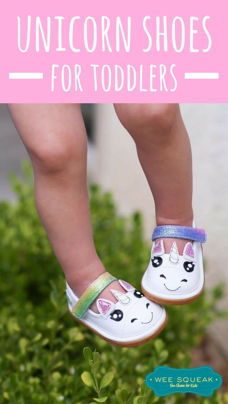 ba6792d16b1 These unicorn shoes for toddlers are ADORABLE! Unicorn squeaky shoes for  toddlers and babies come