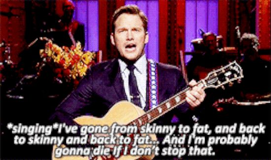 And wrote an excellent song about it. | 31 Times Chris Pratt Was Perfection In Human Form