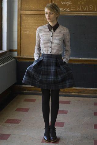 Love how the skirt pops!