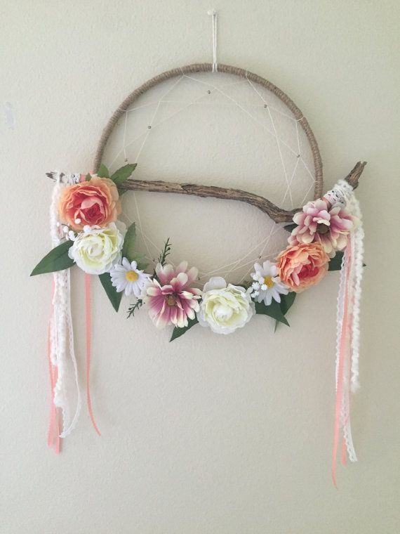 Rustic dream catcher boho dream catcher shabby by DreamyByStevie