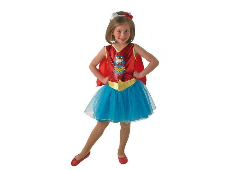 Hello Kitty Wonder Woman costume for girls