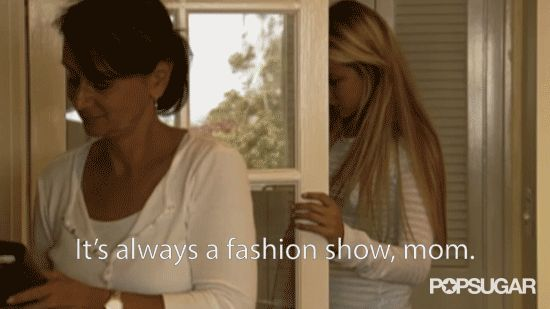 Pin for Later: 18 Important Life Lessons You Learned From The Hills and Laguna Beach It's Always a Fashion Show