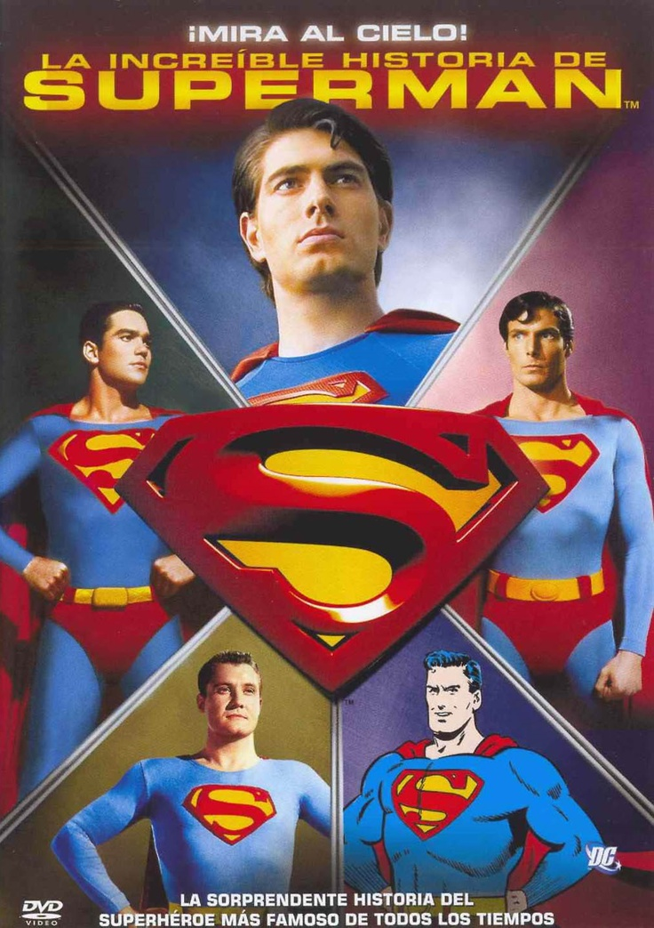 ¡Mira al cielo!: la increible historia de Superman (2006) EEUU. Dir: Kevin Burns. Documental. Cine dentro do cine - DVD CINE 867-XII
