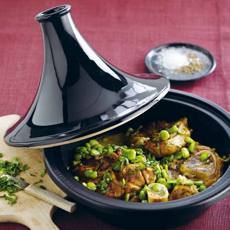 Le Creuset Tagine (Veal with Broad Beans and Mint)