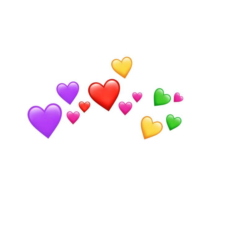 Freetoedit Emoji Emojis Heart Crown Hearts Buku Gambar Stiker Animasi