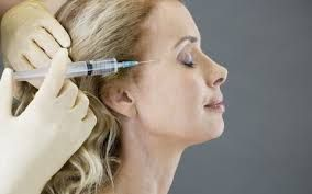 Image result for botox injection sites diagram