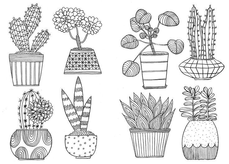 43 Besten Sketches Of Flowers In A Vase Bilder Auf